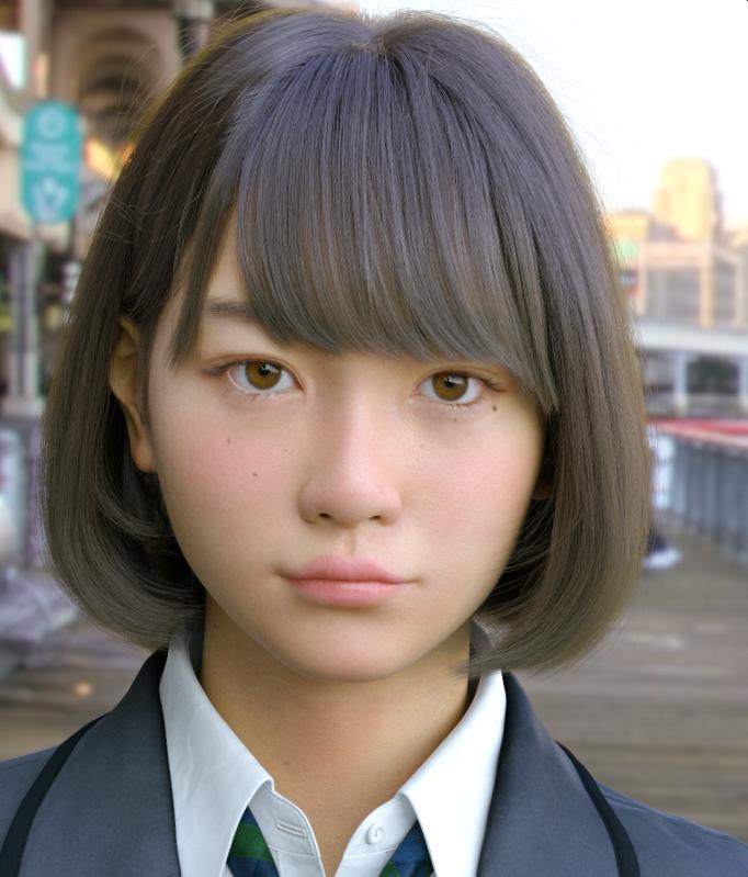 3DCG美少女「Saya」が実写にしか見えない!しかもこのキャラクターが動く