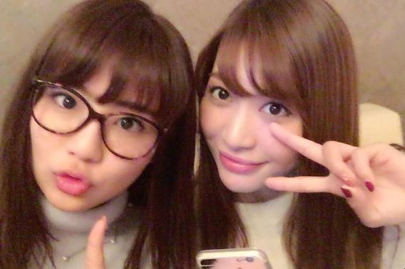 元AKB48大島麻衣・平嶋夏海がデート!インスタ・ツイッターでかわいい2ショット
