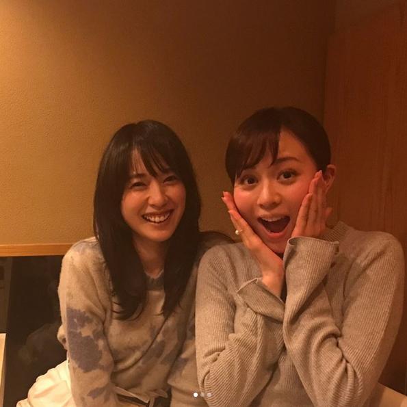 戸田恵梨香がインスタで比嘉愛未との画像をアップ!ドラマ「コード・ブルー 」で再共演