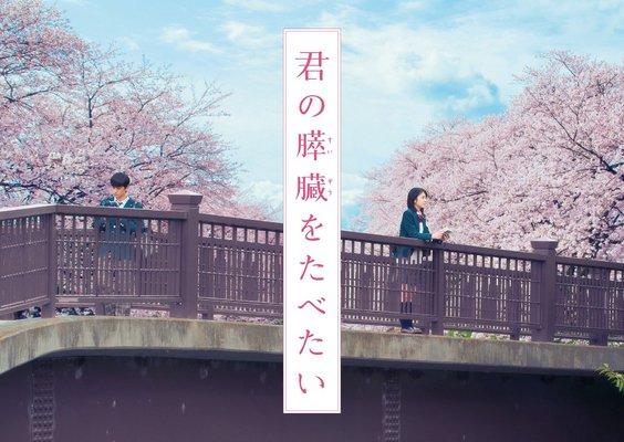 映画「君の膵臓をたべたい」特報動画が公開!小栗旬・北川景子これは絶対泣けるやつ