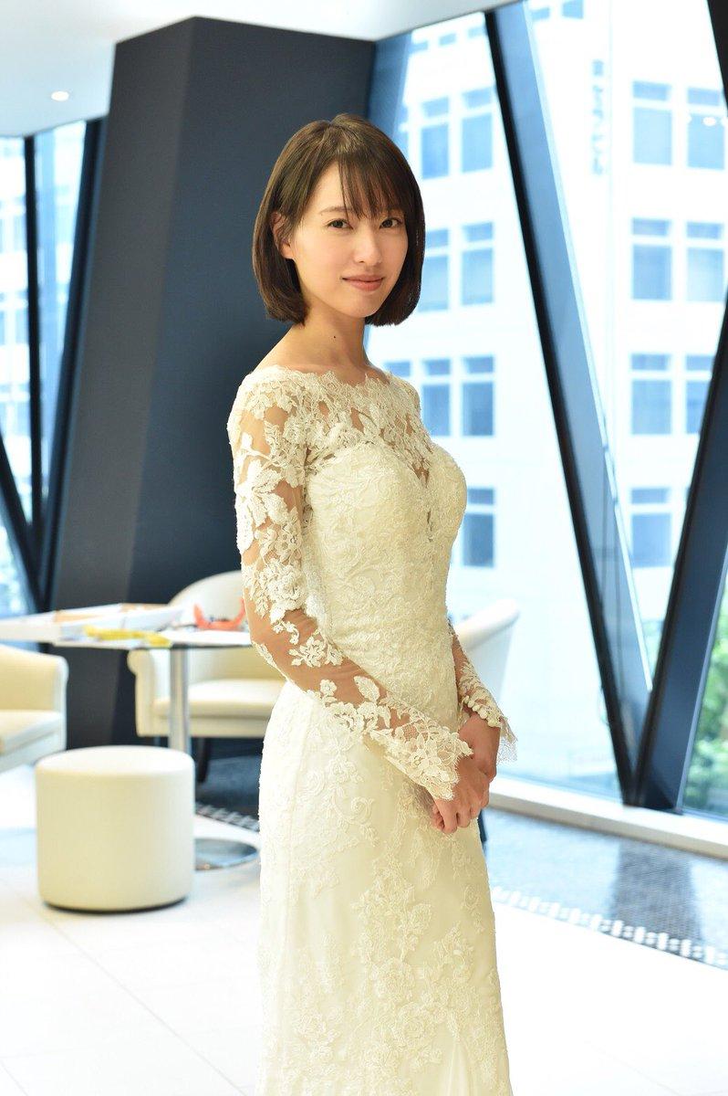 戸田恵梨香が結婚ウエディングドレス姿を披露!夫はムロツヨシ