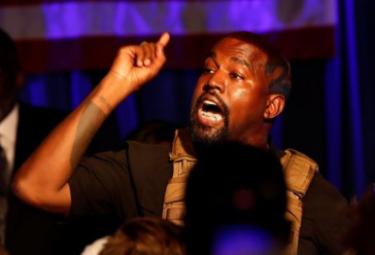 カニエ・ウェストが音楽業界に不満で驚き行動!アメリカ大統領選は辞退?